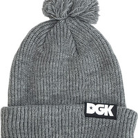 DGK Classic Pom Beanie Athletic Heather