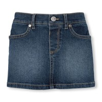 Toddler Girls Denim Skort