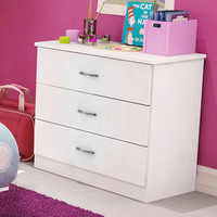 Walmart: South Shore Smart Basics 3-Drawer Chest, Multiple Finishes