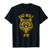 Bad Wolf Number 10 Group Halloween Costume T-shirt