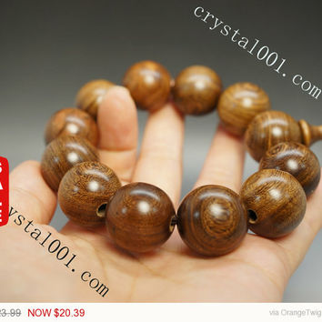 Rare natural precious bodhi tree beads bracelet natural buddha wood beads prayer beads