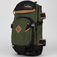 Dakine Sean Pettit Team Heli Pro Backpack Camo Green One Size For Men 21587253301