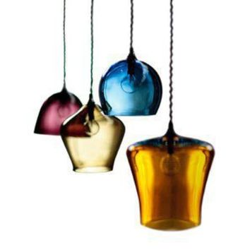 Curiousa and Curiousa  Hand-blown Glass Pendant Lights - Pendants - Modenus Catalog