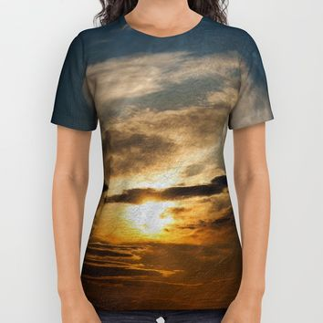 Sunset II All Over Print Shirt by VanessaGF