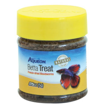 Aqueon® Betta Treat Freeze Dried Bloodworms Fish Treat | Freeze Dried | PetSmart