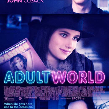 Adult World 11x17 Movie Poster (2014)