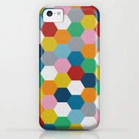 Honeycomb 3 iPhone & iPod Case by Project M