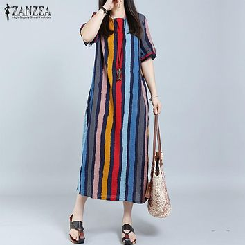 Plus Size Casual Long Maxi Dresses