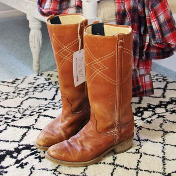 Sweet Stitch Vintage Boots