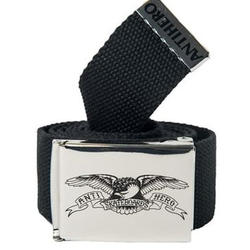 Anti-Hero Eagle Web Belt - nickle/black - Free Shipping