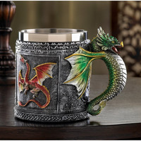 Creative Stainless Steel Cup Strong Character Vintage Mug [6283349318]