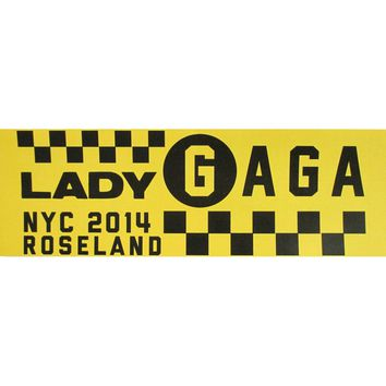 Lady Gaga Bumper Sticker