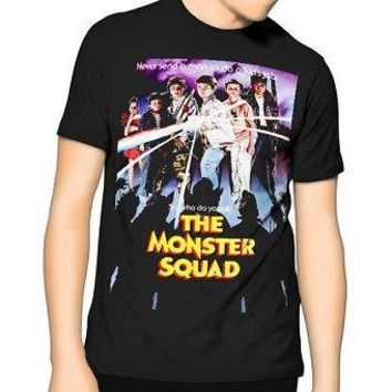 NEW! The Monster Squad 80's Vintage T-Shirt HORROR Movie Graphic Shirt