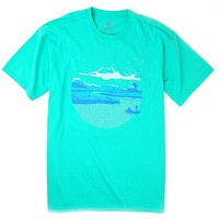 Under the Southern Sun Tee in Old Florida by Southern Proper - FINAL SALE