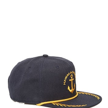 Hawaii Academy Snapback Navy/Yellow One