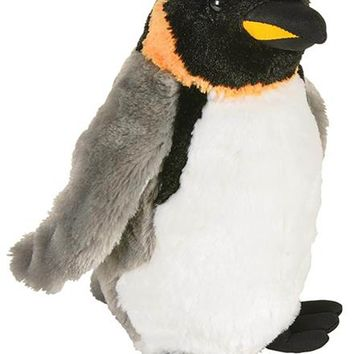 10 Inch Emperor Penguin Stuffed Animal Plush Floppy Ocean Species Collection