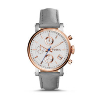 Original Boyfriend Sport Chronograph Graystone Leather Watch - $135.00