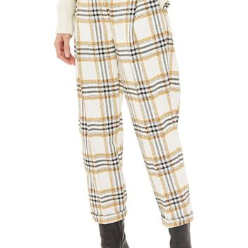 Topshop Three Button Tapered Trousers | Nordstrom