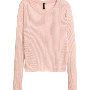 Rib-knit Sweater - from H&M
