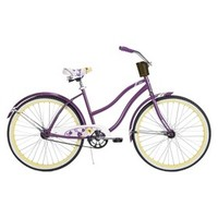 "Huffy Fresno 26"" Womens Cruiser Bike - Purple"