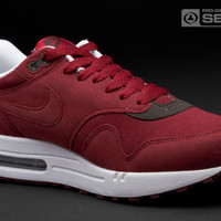 Nike - Air Max 1 - Mens Trainers - Retro Running - Team Red