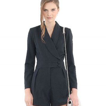 Home :: Woman :: Clothing :: Jumpsuits :: Black Tuxedo Classic Playsuit