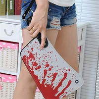 Cleaver Clutch Bag Purse Handbag Halloween