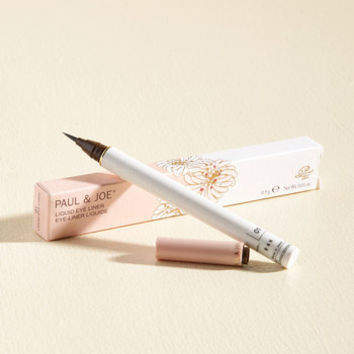 Have a Precision to Make Liquid Eyeliner in Black | Mod Retro Vintage Cosmetics | ModCloth.com