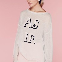 Wildfox Couture As If Lennon Sweater in Mall Fountain