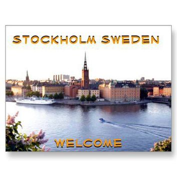 STOCKHOLM-SWEDEN(Mojisola A Gbadamosi Photography) Post Cards from Zazzle.com