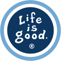 Blue Life is good Magnet  Positive Car Magnets   Life is good