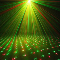 Mini Laser Light LED Laser Lamp Projector Adjustment Led DJ Lamp  Disco For Party Home