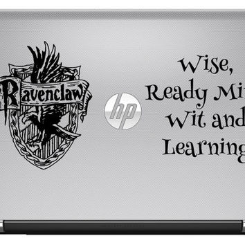 Ravenclaw vinyl decal harry potter laptop decal wall decal in