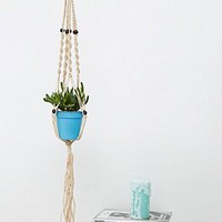 Urban Grow Plant Hanger in Natural - Urban Outfitters