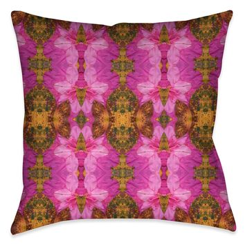 Spring Azaleas Indoor Decorative Pillow