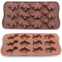 Perfect Dinosaur Baking Silicone Mold Chocolate Cake Cookie Muffin Candy Jelly