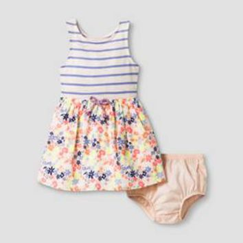 Toddler Girls' A Line Dress - Cat & Jack™ Peach