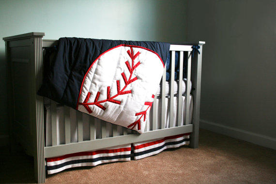 Grand Slam Comforter Baseball Theme From