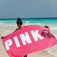 Boyfriend Towel - PINK - Victoria's Secret