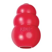 KONG Classic Red Dog Treat Dispenser & Chew Toy Sz: X-Large