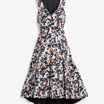 White House | Black Market Printed Fit-and-Flare Sundress