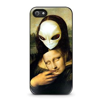 MONA LISA ALIEN iPhone 5 / 5S / SE Case Cover
