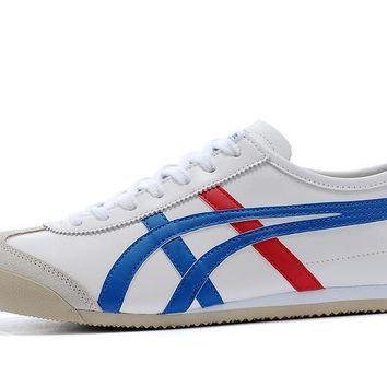 spbest Onitsuka Tiger Mexico 66 Blue/White/Red