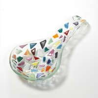 A decorative kitchen spoon holder spoon rest by by dalitglass