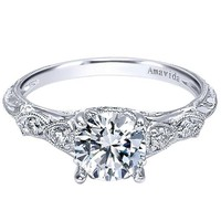 Gabriel Amavida Chelsea Diamond Engagement Ring