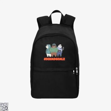 Squad Goals, We Bare Bears Backpack