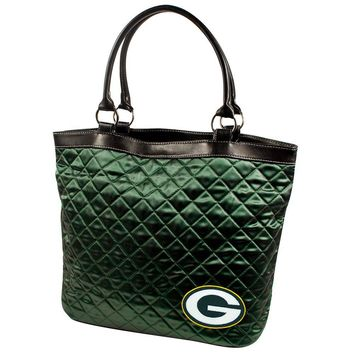 Green Bay Packers NFL Quilted Tote (Dark Green)
