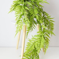 """UV Protected Outdoor Fake Boston Fern Hanging Plant - 50"""" Long"""