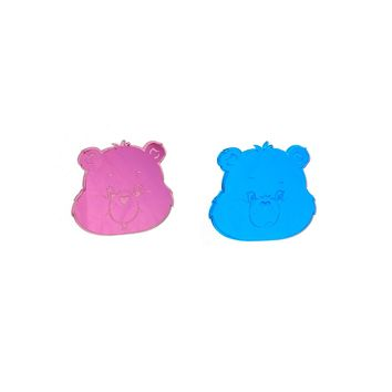 Care Bears™ Grumpy Bear & Cheer Bear Earrings, SMALL