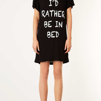 Rather Be In Bed PJ Tee - New In This Week - New In - Topshop